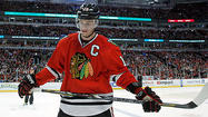 Another last-weekend sabbatical completed, Jonathan Toews began the work of pursuing a Stanley Cup on Monday.