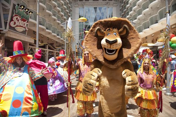 "Alex the lion is among DreamWorks Animation movie characters that will be featured in a ""DreamWorks Experience"" offered at Cotai Strip Resorts in Macao."