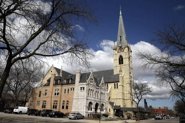 St. James Church in the Bronzeville neighborhood was built in 1875. It no longer meets many city codes.