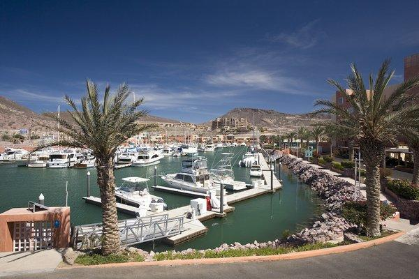 Marina at CostaBaja, in La Paz, Mexico