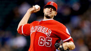 OAKLAND — Teams have made a habit of turning Angels castoffs into All-Star closers (<strong>Fernando Rodney</strong>) and reliable setup men (<strong>Darren O'Day</strong>, <strong>Joel Peralta</strong>), but in 6-foot-7 right-hander <strong>Dane De La Rosa</strong>, the Angels may have a reliever who can turn the talent tide back toward Anaheim.