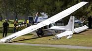 One pilot dies in midair collision of two Cessnas