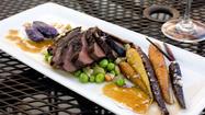 Roasted Moulard duck breast at B in Bolton Hill