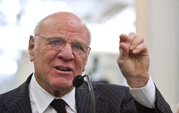 Barry Diller looks like he's playing the world's smallest violin just for broadcasters.