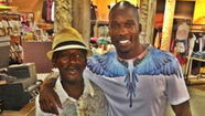A homeless man approached Chad Johnson in the South Beach area of Florida on Saturday and asked the former NFL star to buy him a beer.