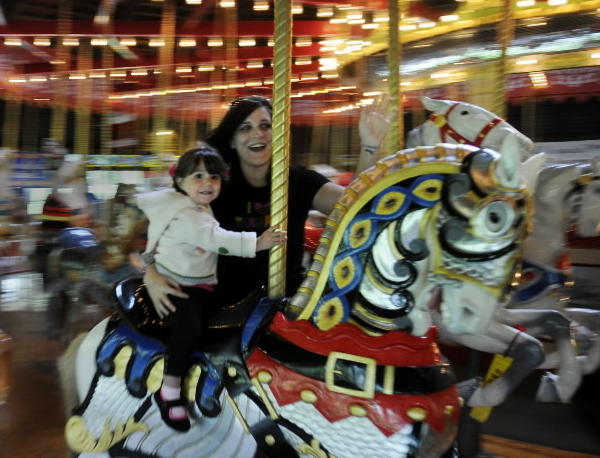 "The Bushnell Park Carousel is open through October Tuesday through Sunday 11 a.m. to 5 p.m.  $1 per ride; children under 1 free. Information: 860-585-5411 or <a href=""http://www.thecarouselmuseum.org/""target=new window"">www.thecarouselmuseum.org</a>"