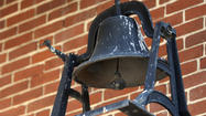 Bell outside Lexington Market