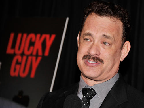"<p>Tom Hanks, ""Lucky Guy""</p>"