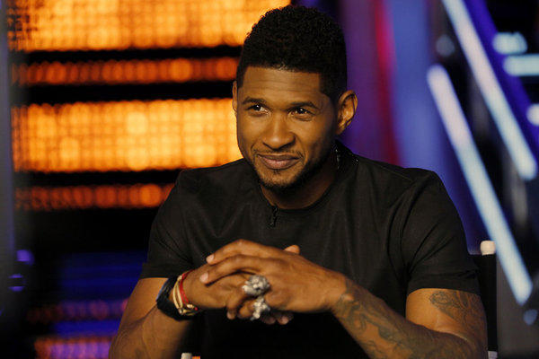 "Usher on ""The Voice."""