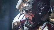 "A little too much and a little not enough, director and co-writer Shane Black's ""Iron Man 3"" nonetheless has everything Disney and Marvel need to keep the ""Avengers"" superhero constellation shining and regenerating well into the 23rd century. It's what you call a pre-hit: As of this writing (Tuesday, 8:57 a.m. CST) the movie already has zoomed past the $200 million mark in worldwide box office."