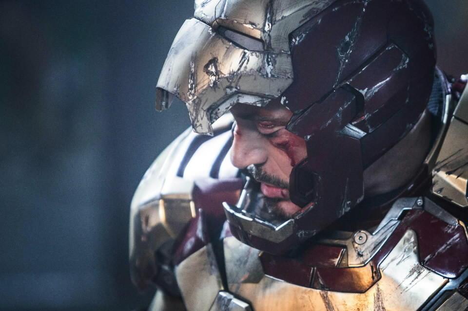 "Robert Downey Jr. as Tony Stark in ""Iron Man 3."""