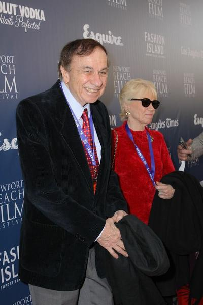 Richard Sherman at the Newport Beach Film Festivals annual Another Evening of Disney Rarities program Sunday.