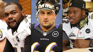 Last summer, it looked as if the Ravens might enter the regular season with one of the oldest starting offensive lines in the NFL. Matt Birk, Bryant McKinnie and Bobbie Williams were all in their mid-thirties and expected to start. But as it turned out, both McKinnie and Williams started the season on the bench and only Birk played.