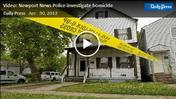 Video: Newport News Police investigate homicide