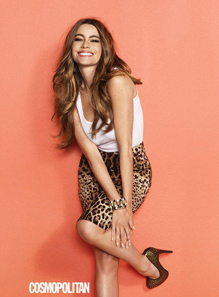 Sofia Vergara is featured in Cosmopolitan's June issue.