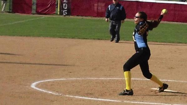 Maine West pitcher Ariel Valles.