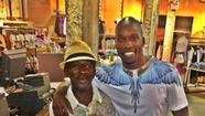Chad Ochocinco befriends homeless man