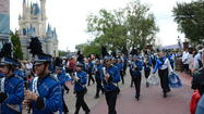 CMS Marching Band and Drill Team Perform at Disney World