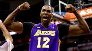 "According to the gambling website <a href=""http://www.bovada.lv"">Bovada</a>, the Lakers are the prohibitive favorite to sign their All-Star center Dwight Howard."