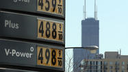 AAA said Tuesday that motorists nationwide are paying the lowest springtime gas prices in three years, but don't tell that to drivers in Illinois.