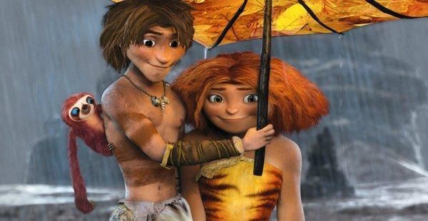 """The Croods"" was a hit for DreamWorks Animation, but because it was released late in the first quarter it contributed only $4 million of revenue in the period."