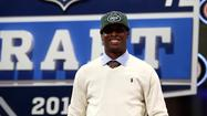 New York Jets draft pick Geno Smith has parted ways with Select Sports Group, but told SiriusXM NFL Radio on Tuesday that it wasn't related to his big drop in last weekend's draft.