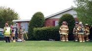 A dog died in a Tuesday afternoon house fire at 8778 Stottlemyer Road in Washington Township, Pa.