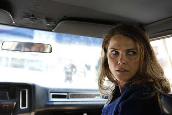 "Soviet spies risk everything in ""The Americans"" on FX. With Keri Russell."