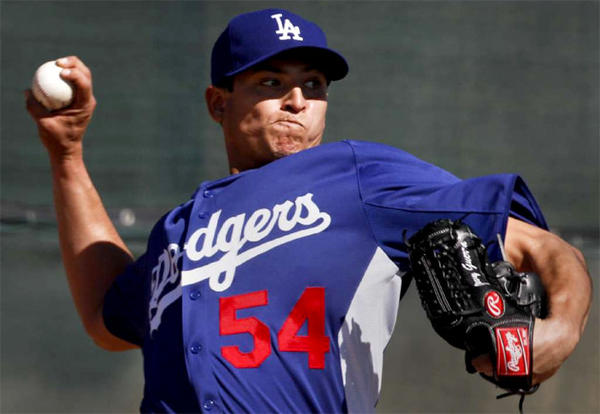 Dodgers called up former close Javy Guerra and sent down Josh Wall.