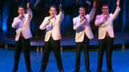 "Fox Valley Rep presents hit musical, ""Forever Plaid,"" at Pheasant Run now through May 19. 2013."