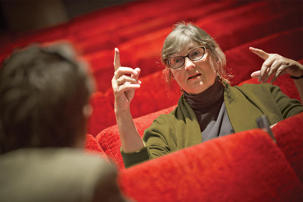 Julia Gagne is retiring from Valencia College, where she has chaired the theater department for decades.