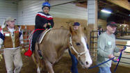 "<span style=""font-size: small;"">They help children with special needs. Confidence and courage gained on the back of a horse. But non-profit LoveWay Stables in Middlebury needs some help – they need more horses for their therapeutic riding program.</span>"