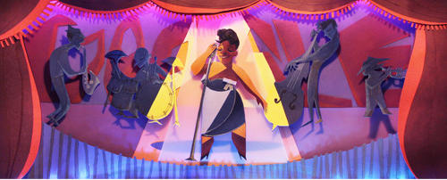 Google gave a nod to the preeminent female jazz singer of her time, Ella Fitzgerald. 