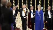 The new Dutch monarch, King Willem-Alexander