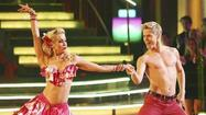 """Dancing With the Stars,"" which will name its latest winner in three weeks, shed another celebrity Tuesday night."