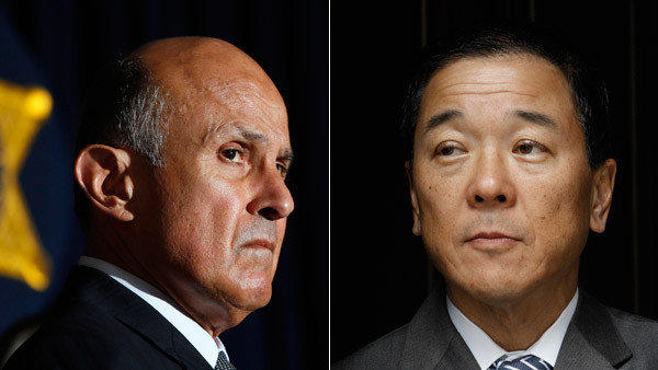 "Former aide Paul Tanaka, right, calls Sheriff Lee Baca's department a ""house of cards that's on the verge of crumbling."""