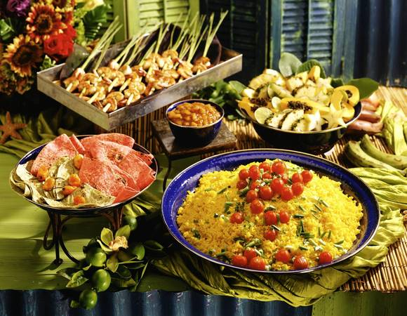 Tropical buffet