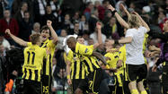 Borussia Dortmund needed every bit of its first-leg advantage to stave off a comeback attempt by Real Madrid and reach the Champions League final for the first time since 1997.