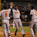 Nate McLouth, Ryan Flaherty, J.J. Hardy