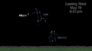 May is a great month to see a lovely collection of constellations with your own eyes and view objects studied by NASA spacecraft and telecopes. Use the moon to help locate the constellations this month.