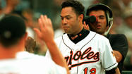 Former second baseman Roberto Alomar isn't positive that 1996 was his greatest season as a big leaguer, but he knows that first year as an Oriole had to be among the highlights of his Hall of Fame career.