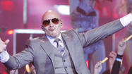 Pitbull at Preakness