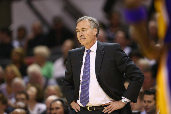 Lakers Coach Mike D'Antoni may have some free time to unpack boxes now.
