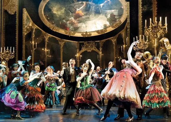 "UK tour of the new ""Phantom of the Opera."""