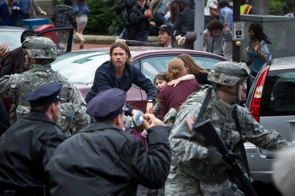 "Brad Pitt in Paramount's ""World War Z"""