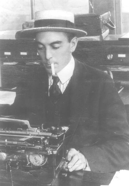Ring Lardner was a celebrated sportswriter, humorist, and satirist. He wrote the Chicago Tribunes In the Wake of the News column.