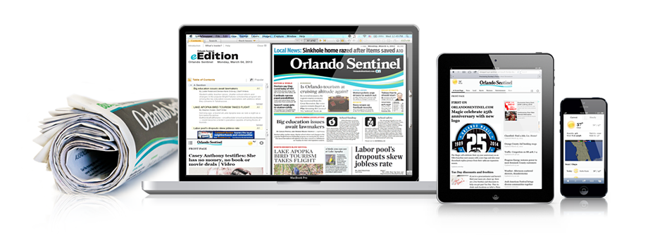 Orlando Sentinel Digital Access