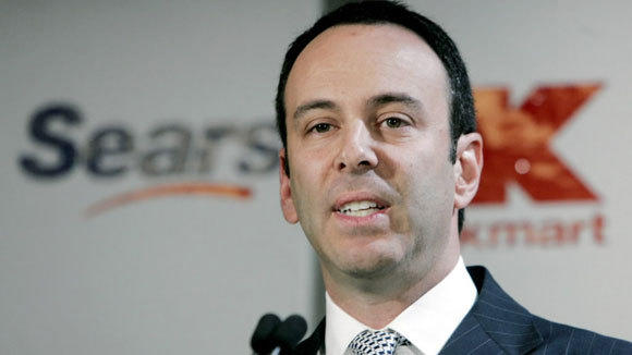 Edward S. Lampert speaks at a news conference in New York in a 2004 file photo.