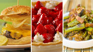 May food holidays: burgers, strawberries and asparagus [Pictures]