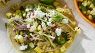 Florida sweet corn is in season. Let's celebrate with Charred Corn Tacos With Radish Zucchini Slaw. You'll find the recipe at OrlandoSentinel.com/thedish. In the meantime, let's dish: